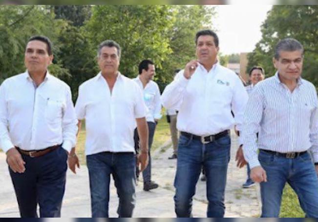 Los gobernadores de los Estados de Jalisco, Nuevo León, Coahuila y Tamaulipas