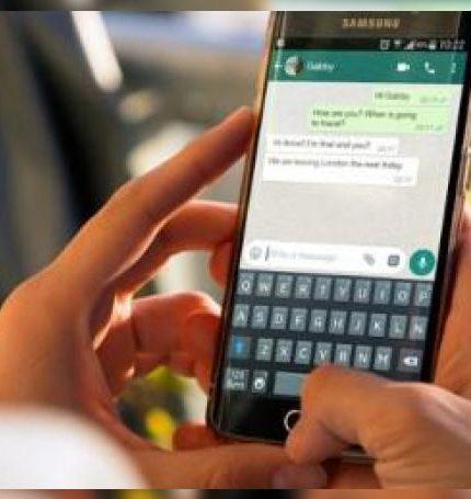 En WhatsApp se detectó que 91.3 de las charlas son con amigos, 81.7 por ciento con familiares, y en ascenso las cuestiones laborales con 62.3 por ciento.