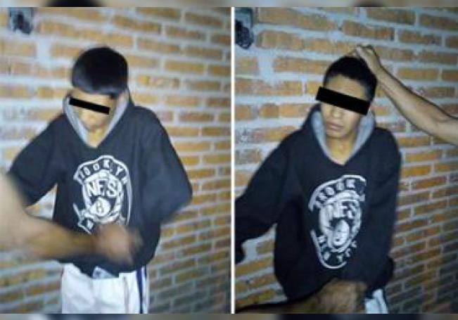 El sujeto fue detenido por vecinos de Lomas del Chapulín.