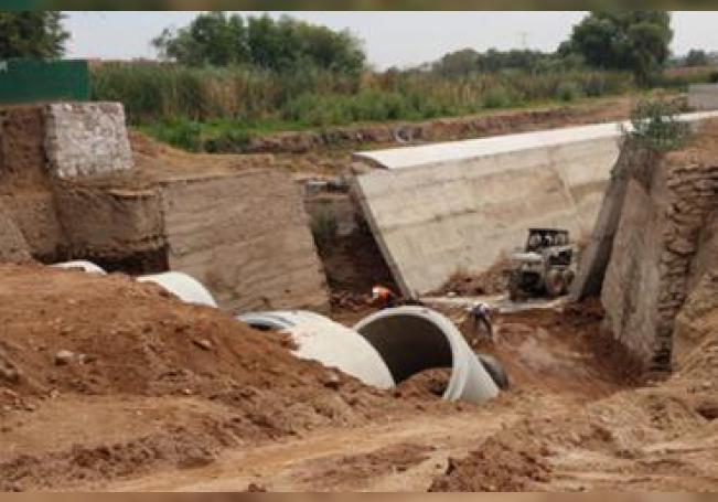 La CCAPAMA invertirá 10 millones en la construcción del muro.