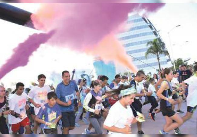 Por la mañana del domingo se llevará a cabo el Maratón Aguascalientes y por la tarde la que será denominada como Carrera de Colores de Radio Universal.