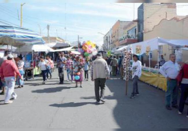 El Barrio de Guadalupe estuvo repleto desde temprana hora ayer.