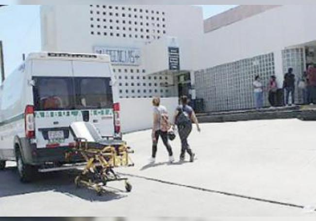 Imagen del acceso de Urgencias del Hospital Uno.