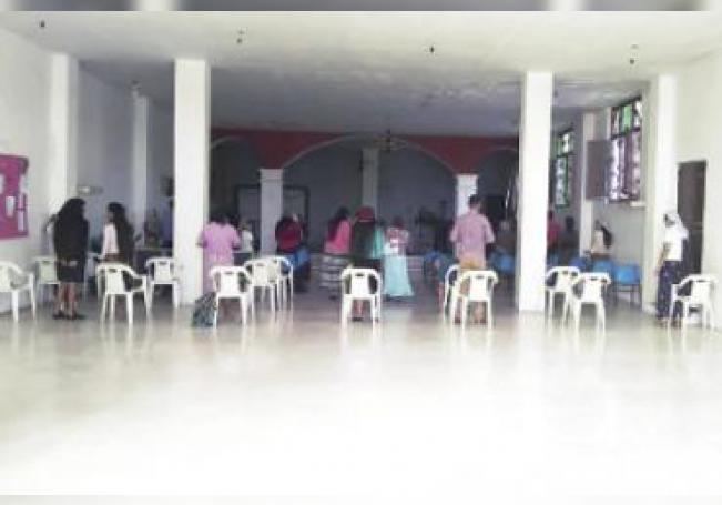 Un centro religioso fue cerrado por la Guardia Sanitaria.