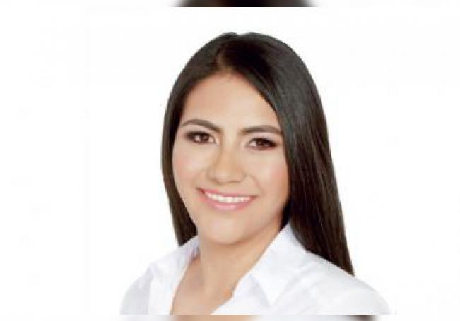 La diputada panista Guadalupe de Lira.