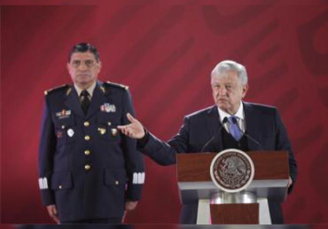 López Obrador invitó a los jóvenes a sumarse al proyecto de la Guardia Nacional.