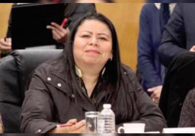 La diputada de Morena fue captada brindando en el Congreso de Sinaloa.