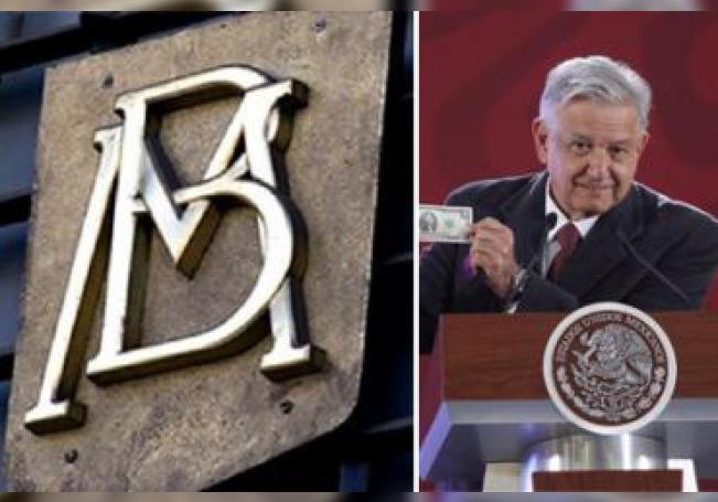 Banxico no quiere ganar menos que el AMLO.