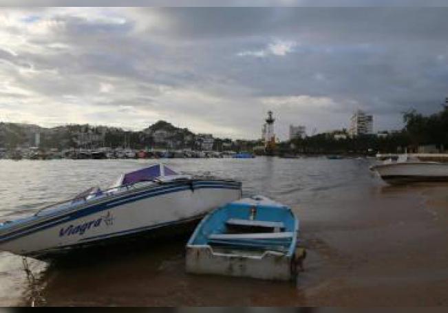El huracán Lorena tocó tierra en las últimas horas en Jalisco.