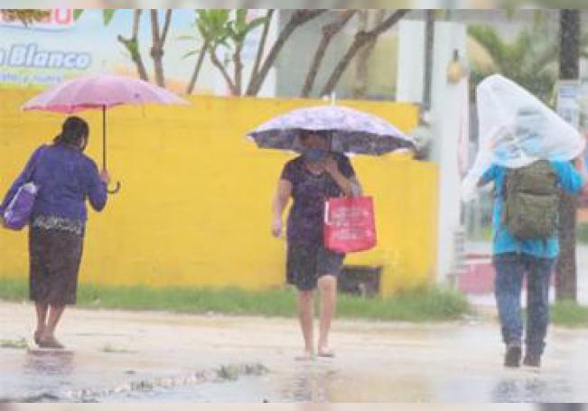 La CONAGUA pronostica más lluvias en gran parte del territorio nacional.