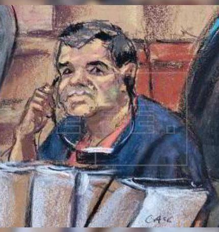 """El Gobierno de Estados Unidos solicitó este viernes el decomiso de 12,666 millones de dólares a Joaquín """"El Chapo"""" Guzmán."""
