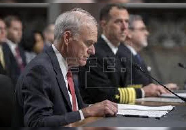 El Secretario estadounidense de la Armada, Richard Spencer