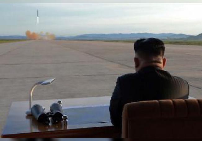 Corea del Norte ha lanzado hoy dos proyectiles todavía no precisados desde su costa oriental