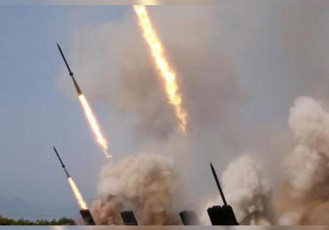 Corea del Norte realizó hoy un nuevo lanzamiento de proyectiles