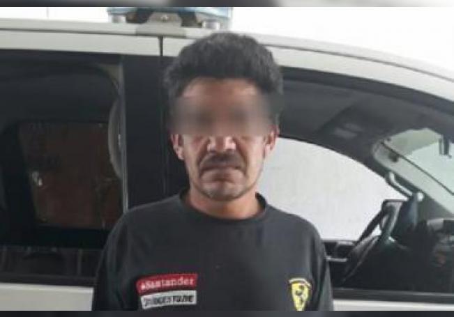 El agresor fue trasladado al C4 únicamente por una falta administrativa, ya que su mujer no lo quiso denunciar.
