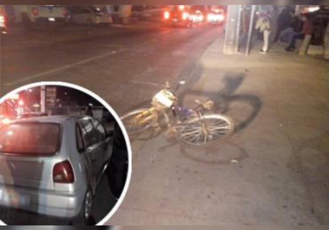 El ciclista fue trasladado a la Clínica I del Seguro Social donde quedó internado en condición delicada.