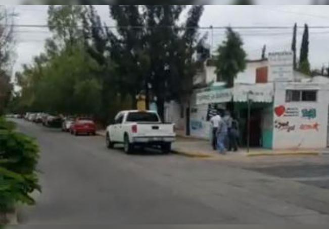En el sitio del secuestro se encuentra las autoridades realizando las labores pertinentes.