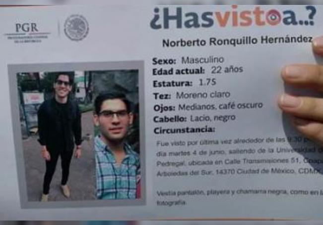 El cuerpo del joven secuestrado fue localizado en la Alcaldía de Xochimilco.