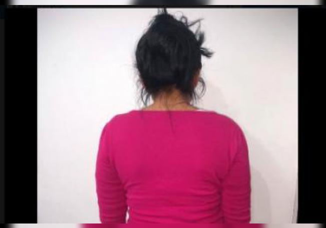 De acuerdo al reporte de las autoridades la mujer es integrante de los Monkikis una conocida banda de delincuentes en Aguascalientes.