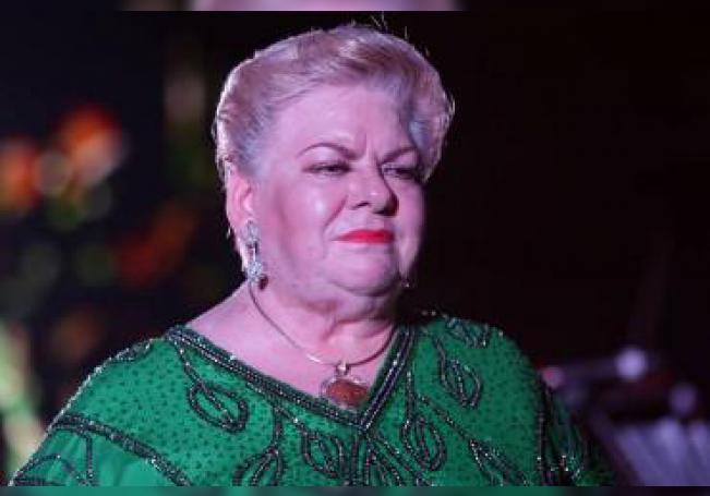 La cantante Paquita la del Barrio