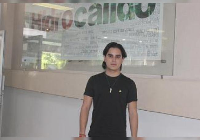 Luis Gudiño durante su visita a HIDROCÁLIDO.