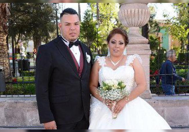 Jorge y Raquel ya son marido y mujer.
