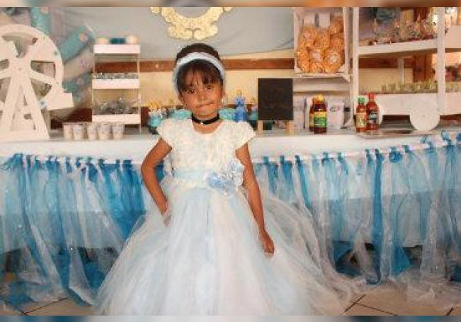 Divertido festejo para la pequeña Frida, en su cumpleaños número tres.