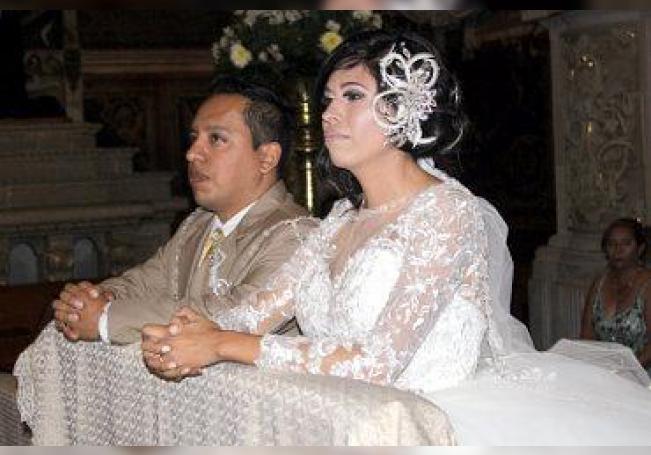 Forman un nuevo matrimonio Omar Fernando Hernández Hernández y Laura Daniela Valenciano Veloz.