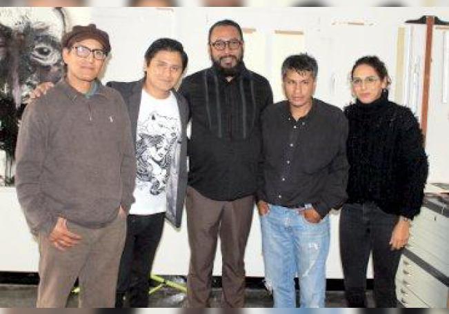 Carlos Cordero Montiel, Samuel Maita Argote, Andrés Vázquez Gloria, Ángelo Benito Guzmán y Martha Adriana Fernández.