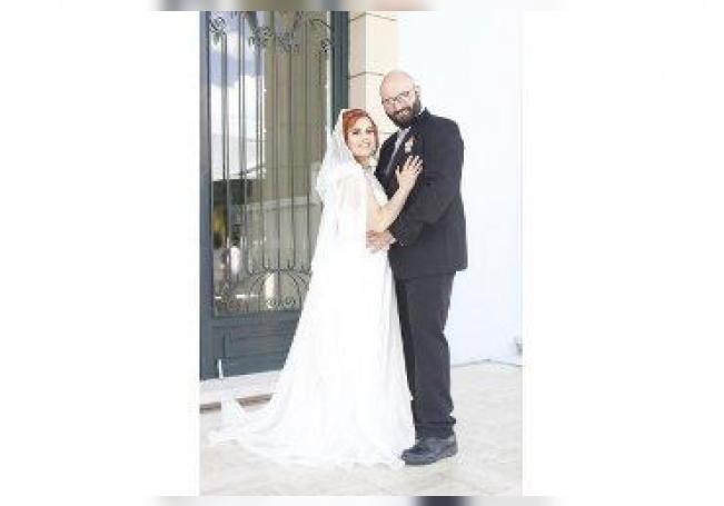 Celebraron su boda por la vía civil, Antonio y Rebeca.