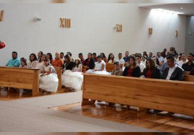 Recibieron a Cristo en su corazón a través de la Eucaristía.
