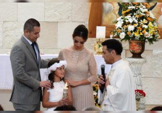 Recibió el Alimento Espiritual en emotiva ceremonia.