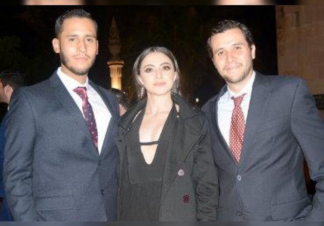 Carlos, Tania y Ricardo.
