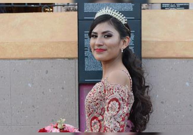 Quinceañera Tania Guadalupe Ruiz Río.
