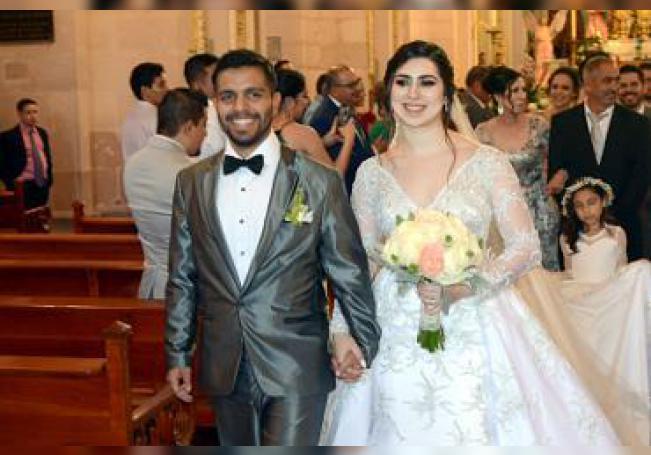Forman un nuevo matrimonio Daniel Jiménez Calvia e Irma Pérez Jáuregui.