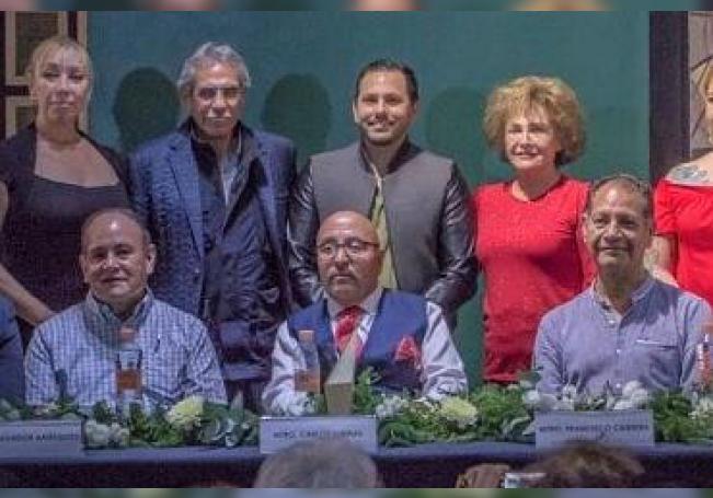 Participantes en la Primera Velada Cultural 2020.