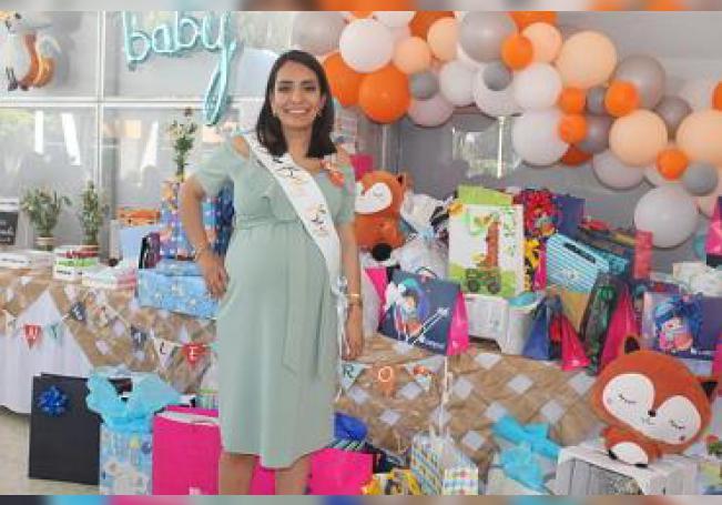 Numerosos regalos para Dante Alejandro recibió la futura mamá, Laura Angélica Rodríguez García.