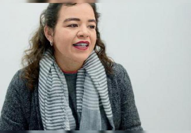 Sensible, apasionada, fuerte y decidida, Katia Rodríguez nos platica su experiencia y amor por el olor, sabor, trazos y textura del arte.