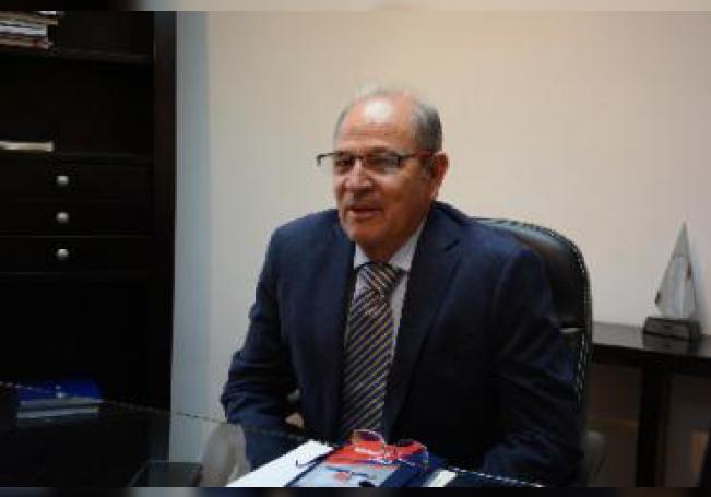 Platicamos con el presidente de la Cámara Mexicana de la Industria de la Construcción.