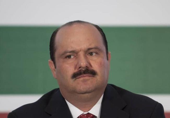 El exgobernador de Chihuahua, César Duarte.