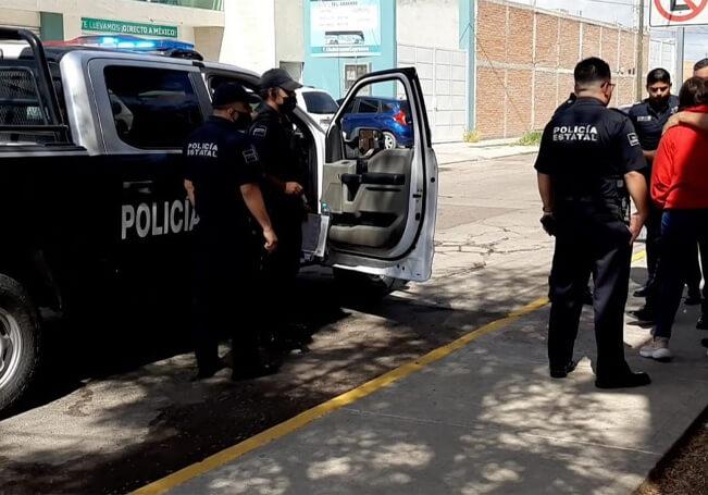 Los policías ubicaron a la menor presuntamente secuestrada.