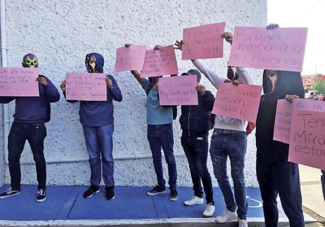 Pidieron ser escuchados y atendidos por las autoridades.