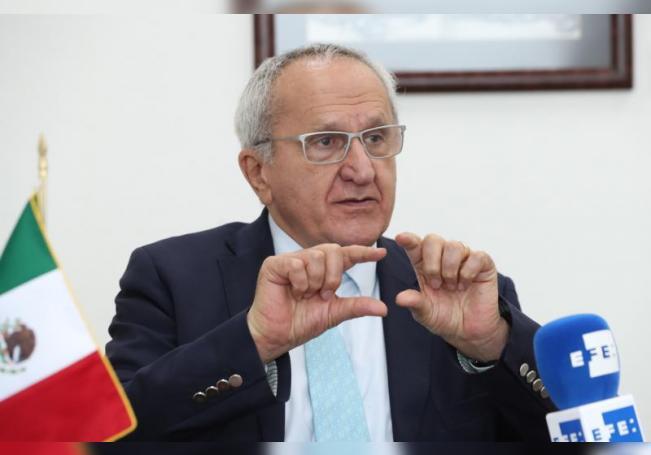 Jesús Seade, candidato mexicano a la dirección general de la Organización Mundial del Comercio (OMC). EFE/ Mario Guzmán/Archivo