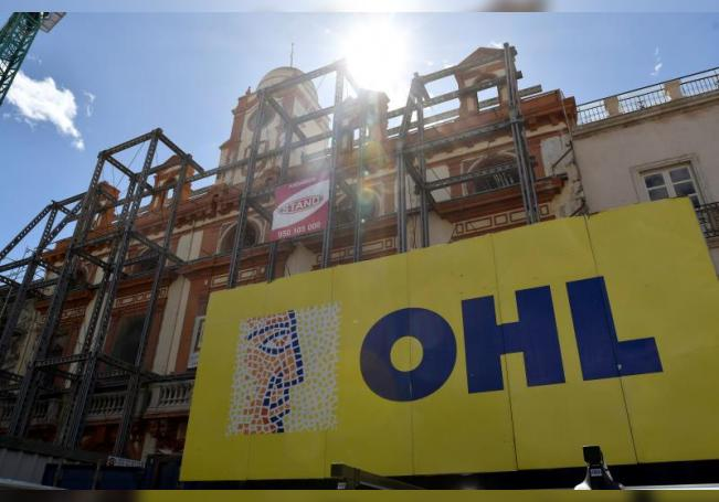 Una obra de la construtora OHL. EFE/Carlos Barba/Archivo