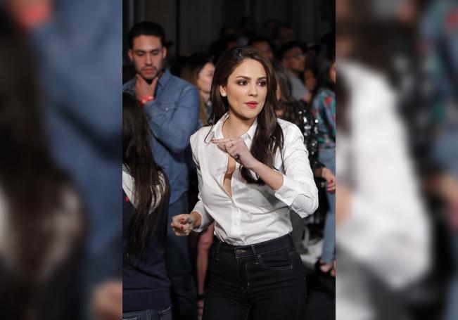 La actriz mexicana Eiza González asiste el jueves 22 de marzo de 2018, durante la inauguración de una tienda Levi's en Ciudad de México (México). EFE/José Méndez/Archivo