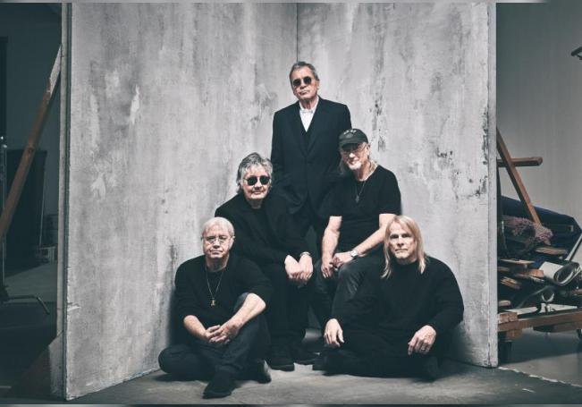 Fotografía cedida por EarMusic del grupo Deep Purple. EFE/ Ben Wolf /SOLO USO EDITORIAL/NO VENTAS