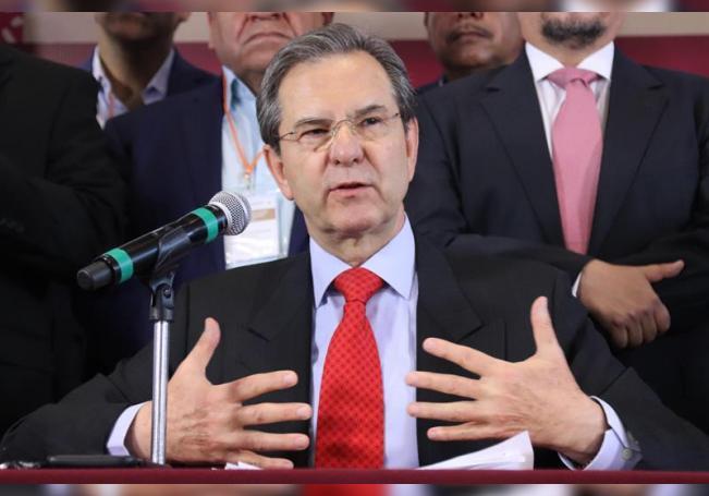 El secretario de Educación Pública, Esteban Moctezuma. EFE/ José Pazos/Archivo