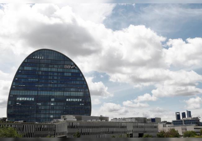 Vista general de la sede del BBVA en el madrileño barrio de Las Tablas, en Madrid. EFE/Mariscal/Archivo