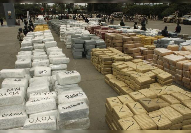 Las autoridades mexicanas decomisaron en el aeropuerto de Ciudad de México un cargamento de 220 kilogramos de fentanilo que llegó procedente de España, informó este miércoles la Administración General de Aduanas (AGA) de México. EFE/Archivo