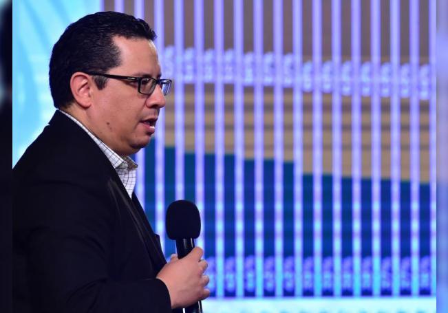 Fotografía cedida este miércoles por la Presidencia de México, del director general de Epidemiología de la Secretaría de Salud, José Luis Alomía, durante una rueda de prensa en Palacio Nacional Ciudad de México. EFE/Presidencia de México/SOLO USO EDITORIAL / NO VENTAS